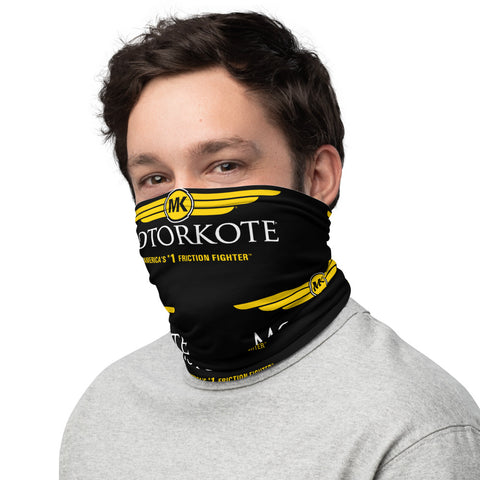 Face Covering Neck Gaiter MotorKote Logo Pattern