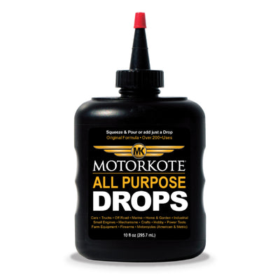 10 oz MotorKote Hyper All Purpose Drops (Hyper Lubricant), Engine, - MotorKote.com