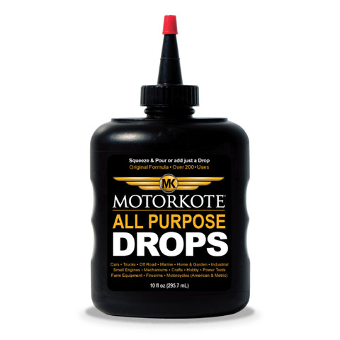 MotorKote Hyper All Purpose Drops (Hyper Lubricant) 10 oz, Engine, - MotorKote.com