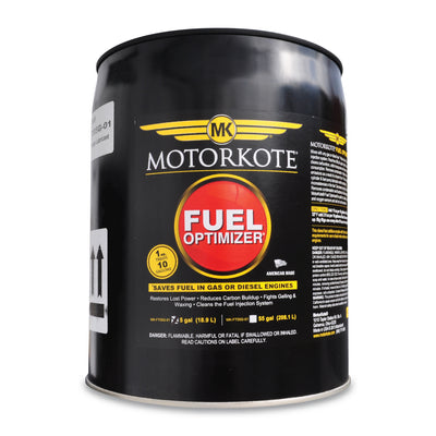 MotorKote Fuel Optimizer Gas/Diesel Treatment 5 gallon drum, Fuel Treatment, - MotorKote.com
