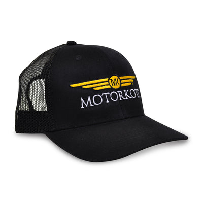 MotorKote Limited Edition Black/Black Trucker Hat 2018, , - MotorKote.com