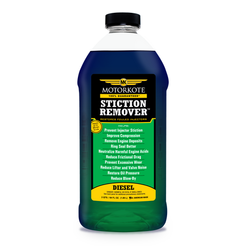 MotorKote Diesel Stiction Remover - Oil Side Injector Treatment 64 oz, Engine, - MotorKote.com