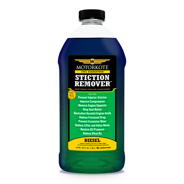 64 oz MotorKote Diesel Stiction Remover - Oil Side Injector Treatment, Engine, - MotorKote.com