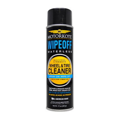 17 oz. MotorKote WipeOff Waterless Industrial Strength Wheel and Tire Cleaner, Spray Lubricant, - MotorKote.com