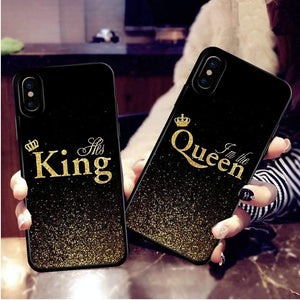 c4a49401ec Discoverer One King-iPod Touch 4 / Black For iPhone XS King Queen Case  Couple