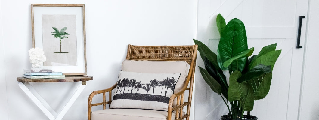 Caribbean style rattan furniture and homewares