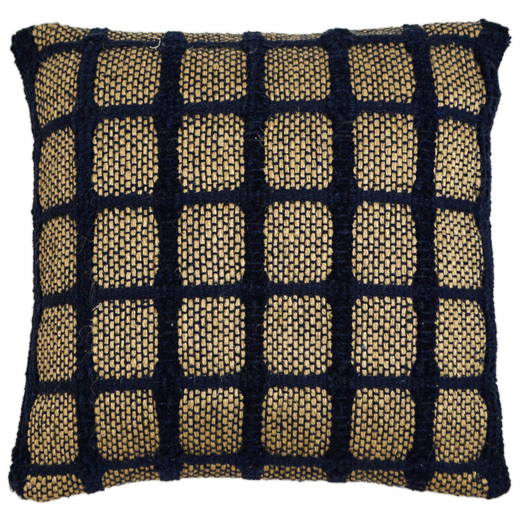 Blue Trellis Cushion  Homewares nz