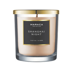 Maraca Shanghai Night Luxury Candle 450g  Homewares nz