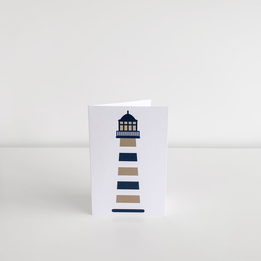 Mini Greeting Card - Lighthouse Homewares nz