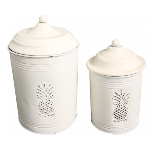 Pineapple Canister - Large  Homewares nz