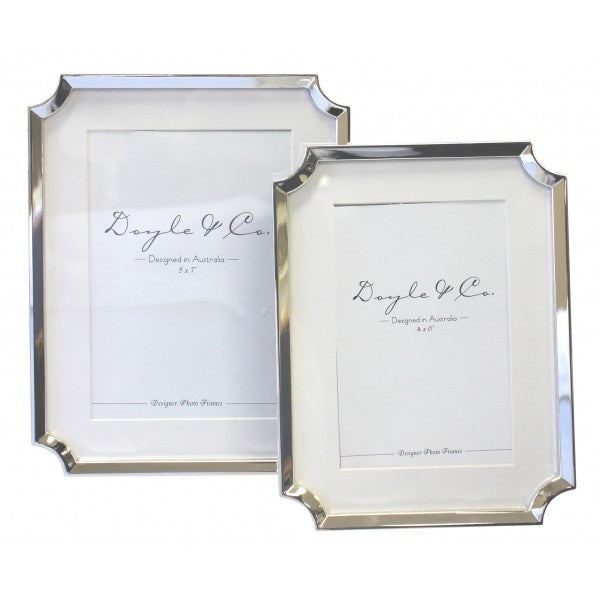 Hamptons Silver Plated Frame 5