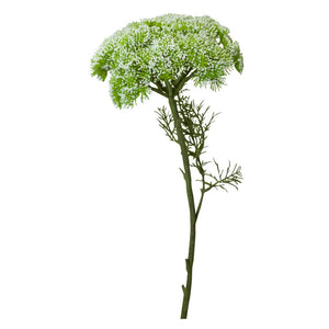 Queen Annes Lace Spray 86cm - White Homewares nz
