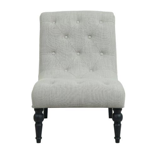 Provincial Leopold Occasional Chair - Natural / Black Legs