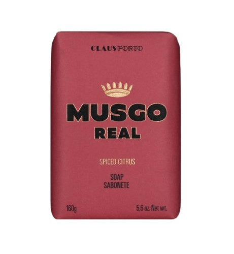 Claus Porto Musgo Spiced Citrus Body Soap 160g