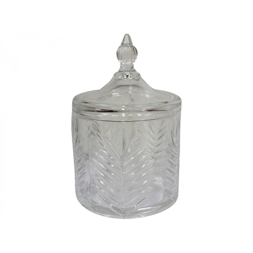 Fern Glass Jar 10cm