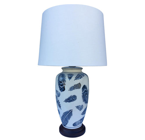 Feathers Lamp  Homewares nz