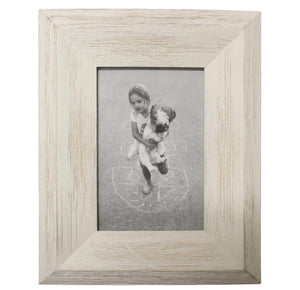 "Coastal White Wash Frame 4""x6""  Homewares nz"