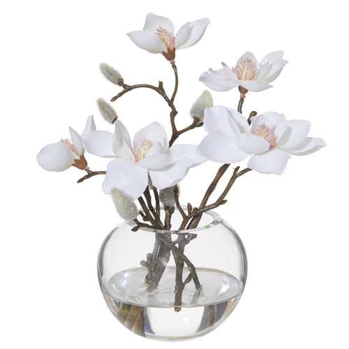 Magnolia In Sphere Vase 21cm  Homewares nz