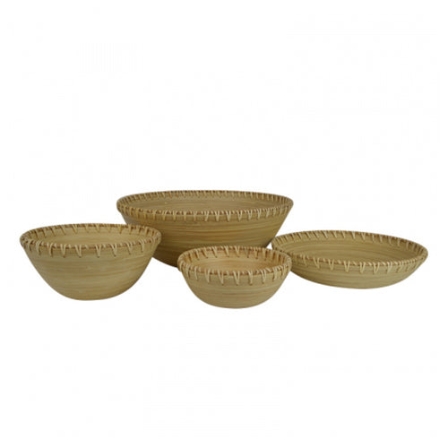 Anaya Bamboo Bowl 22cm Homewares nz