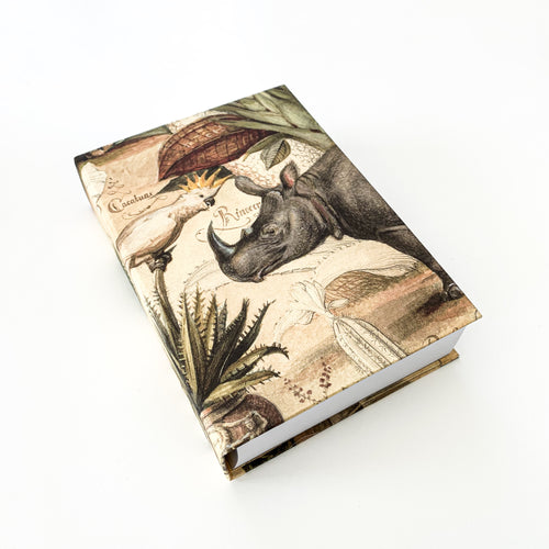 The French Villa Wild Animals Notepad