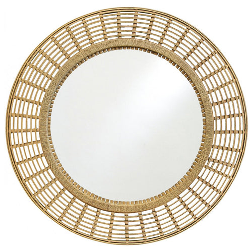 Bamboo Mirror 101cm - Natural  Homewares nz
