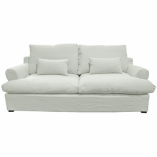 Load image into Gallery viewer, Nantucket 3 Seater Sofa - Sea Grey