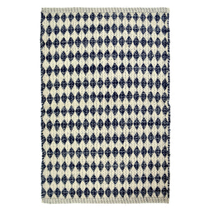 Woven Diamond Rug 60x90cm - Small Homewares nz