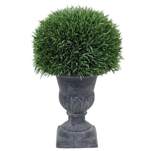 Replica Grass In Formal Urn  Homewares nz