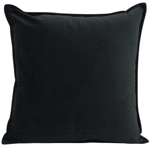 Velvet Cushion 45x45cm - Black