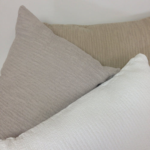 Armani Euro Pillowcase - White