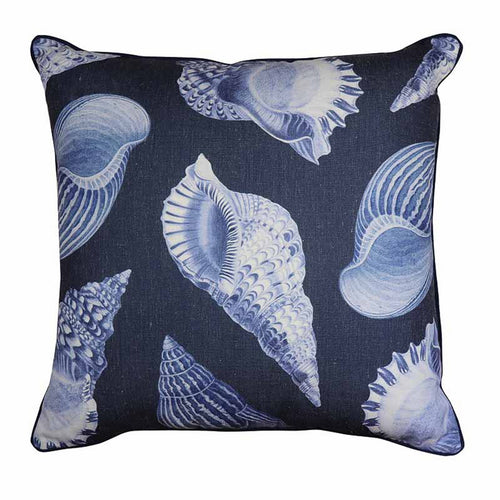 Atlanta Cushion - Navy  Homewares nz