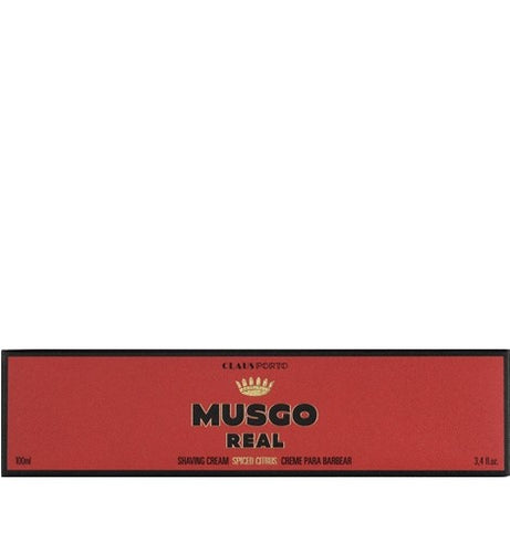 Claus Porto Musgo Spiced Citrus Shave Cream 100ml