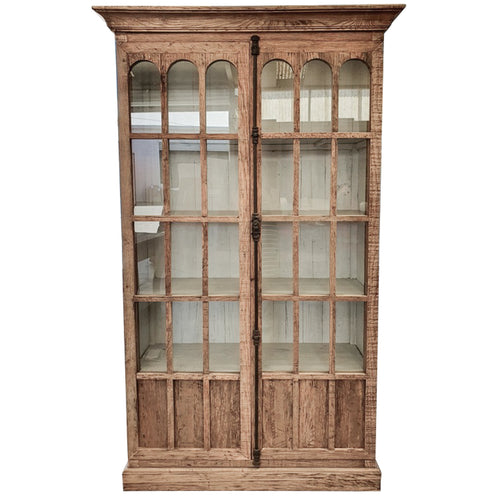 Rhode Island Reclaimed Oak Display Cabinet  Furniture nz