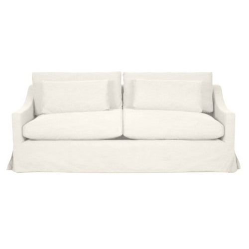 Newport 2.5 Seater Sofa - Off-White (With Slip Cover)  Furniture nz