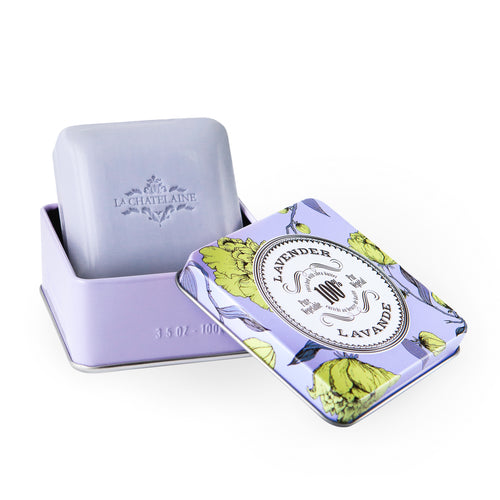 La Chatelaine Lavender Travel Soap 100g