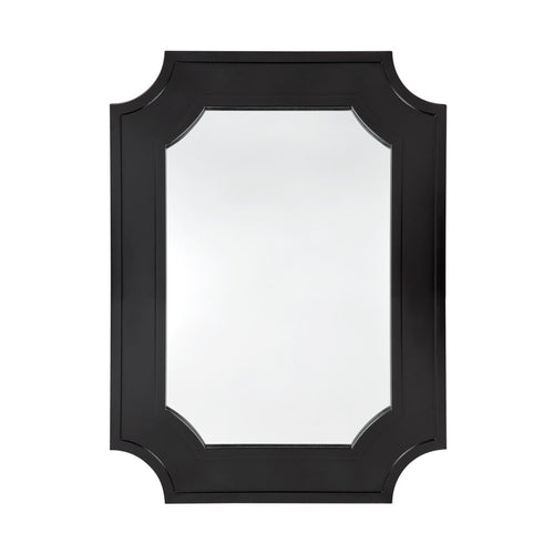 Bungalow Wall Mirror 110cm - Black  Homewares nz