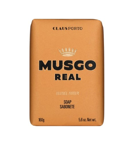 Claus Porto Musgo Orange Amber Body Soap 160g