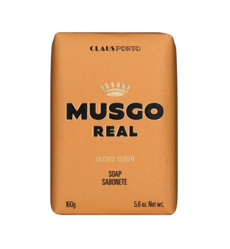 Claus Porto Musgo Orange Amber Body Soap 160g  Homewares nz