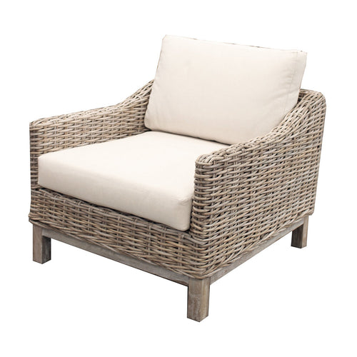Bahamas Rattan Weave Armchair  Furniture nz