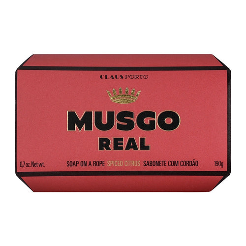 Claus Porto Musgo Spiced Citrus Soap On A Rope 190g