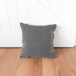 Fleck Scatter Cushion 40x40cm - Black  Homewares nz