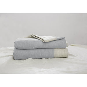 Organic Plant Dyed Quilted Cotton Bedcover - King/Queen  Homewares nz