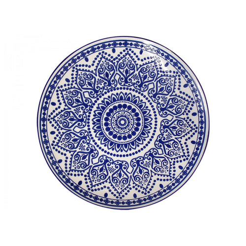Barbados Plate 26cm - Blue  Homewares nz