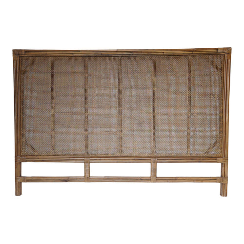Havana King Rattan Headboard 190cm Furniture nz