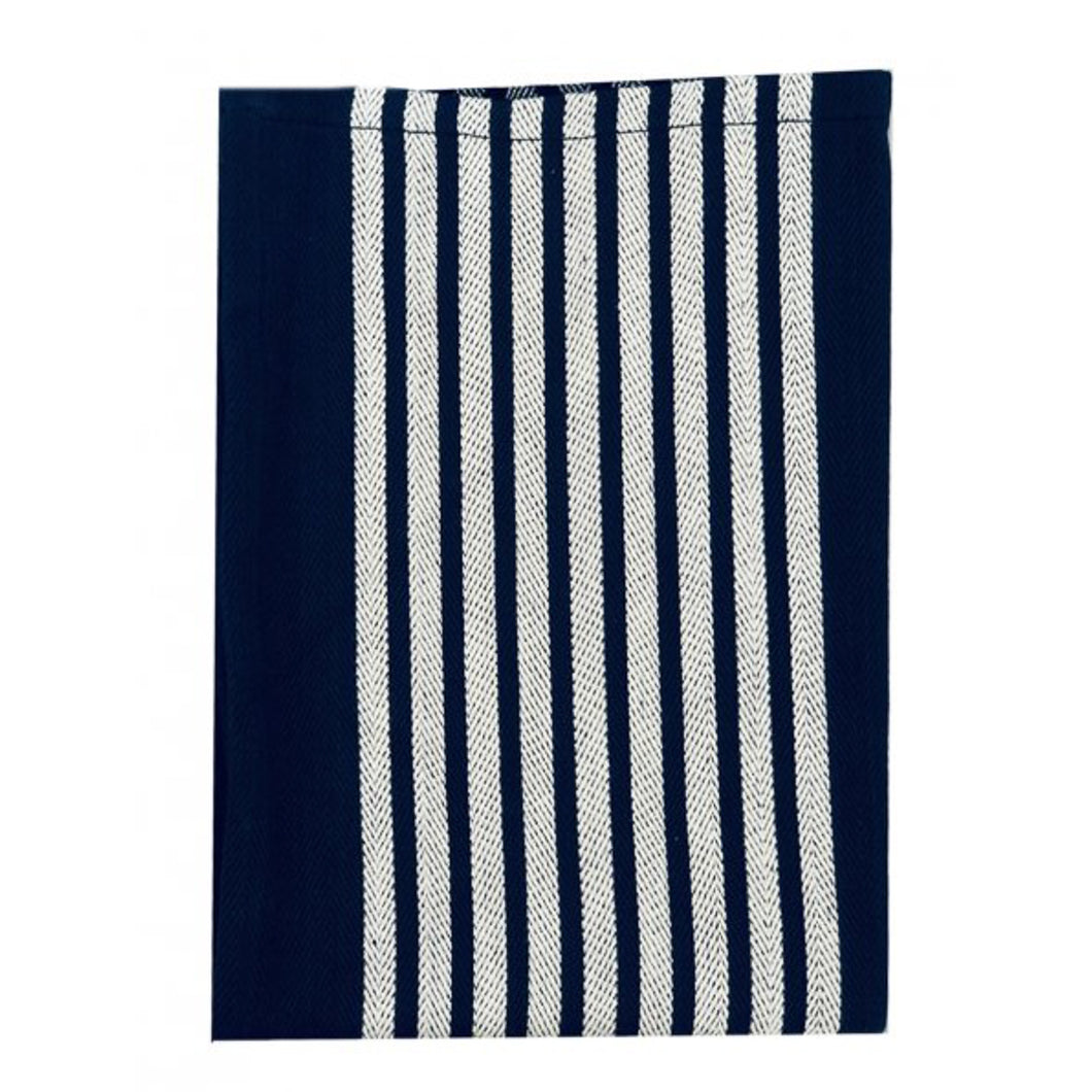 Yacht Cotton Tea Towel 50x70cm - Navy Homewares nz