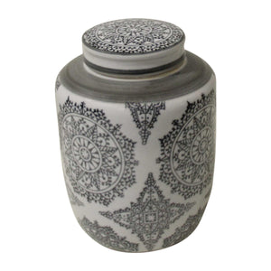 Patron Black Jar - Medium  Homewares nz