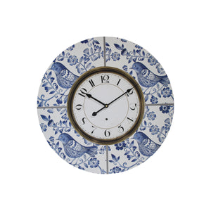 Blue Bird Clock Clock 58cm  Homewares nz