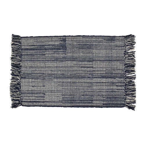 Hamptons Cotton Rug 60x90cm  Homewares nz