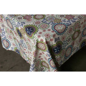 Wildflower Square Tablecloth 150x150cm - Floral Homewares nz