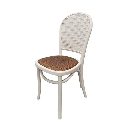 Panama Oak Dining Chair - White Furniture nz